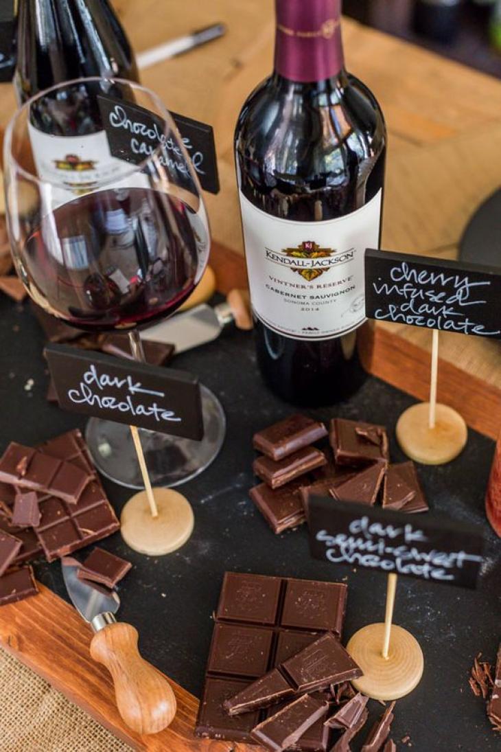 Κρασί και σοκολάτα: Τα μυστικά της νεότητας
