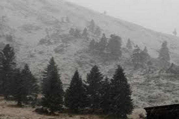 Έπεσαν τα πρώτα χιόνια στα Καλάβρυτα
