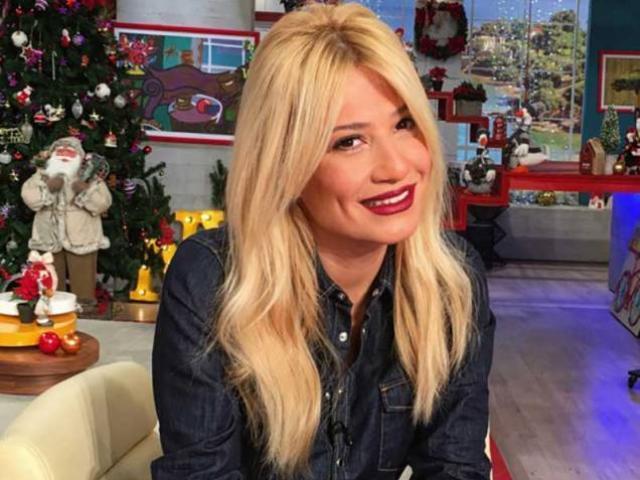 Φαίη Σκορδά: Στόλισε για τα Χριστούγέννα