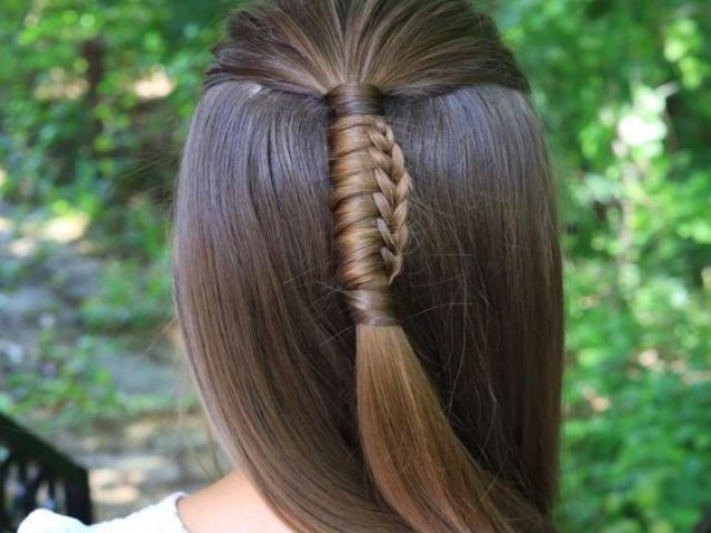 Κοτσίδα Chinese Staircase Braid