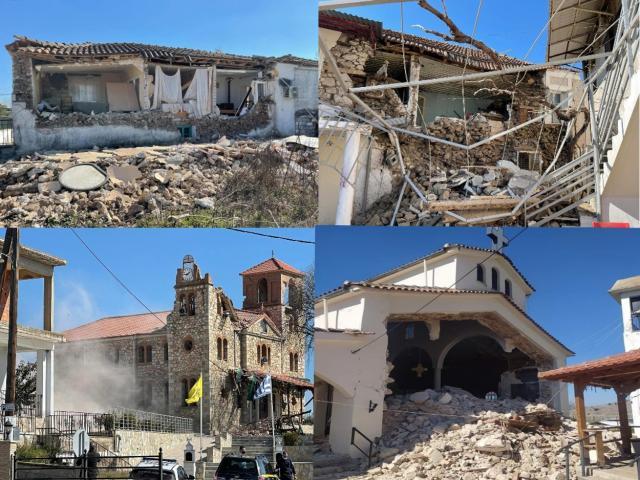 Σεισμός 6 ρίχτερ στην Ελασσόνα